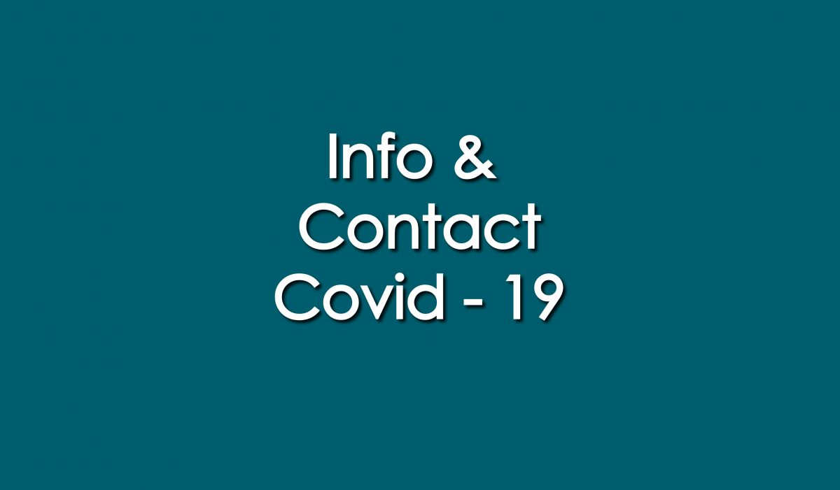 Info et contact Covid-19