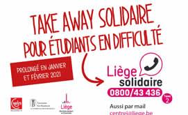 «Copains à bord» aide alimentaire solidaire pour les étudiants vivant à Liège en difficulté financière
