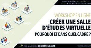 Workshop – Créer une salle d'études virtuelle – 23 mars